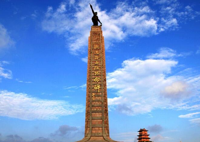 铁道游击队纪念园和铁道游击队影视城-雕塑
