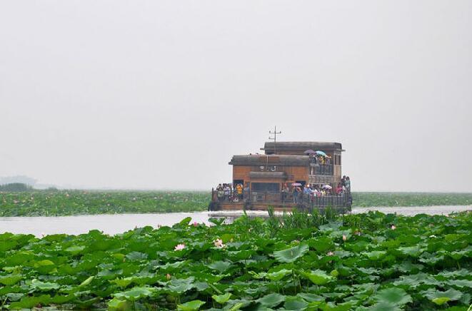 2017清明节微山湖旅游攻略