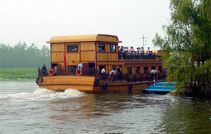 微山湖红荷湿地门票团购,微山湖红荷湿地游船