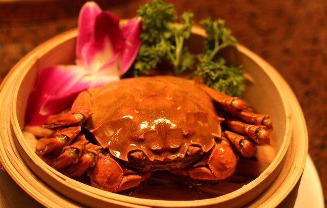 微山湖特产大闸蟹