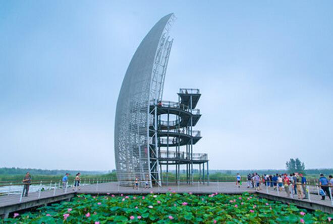 枣庄微山湖红荷湿地公园门票多少钱?
