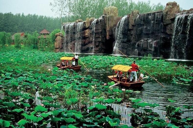 滕州微山湖湿地公园好玩的景点