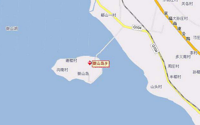 微山岛在哪?——微山岛地图