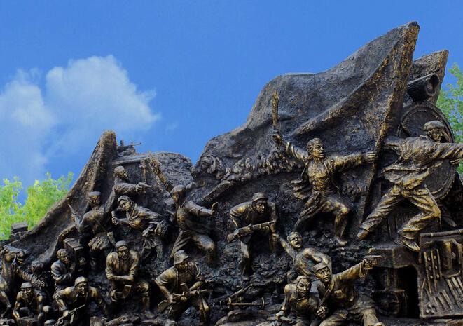 微山岛旅游景点攻略之铁道游击队纪念园
