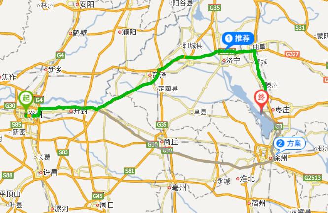 郑州到微山湖自驾游攻略,自助游攻略-路线